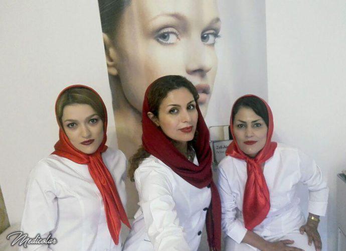 کلینیک پوست و مو سپندار دکتر الهام سپندارند مشهد